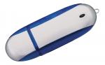 Флешка Ergonomic, синяя, 4 Гб